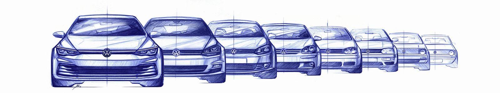 Nouvelle Golf 8 Volkswagen