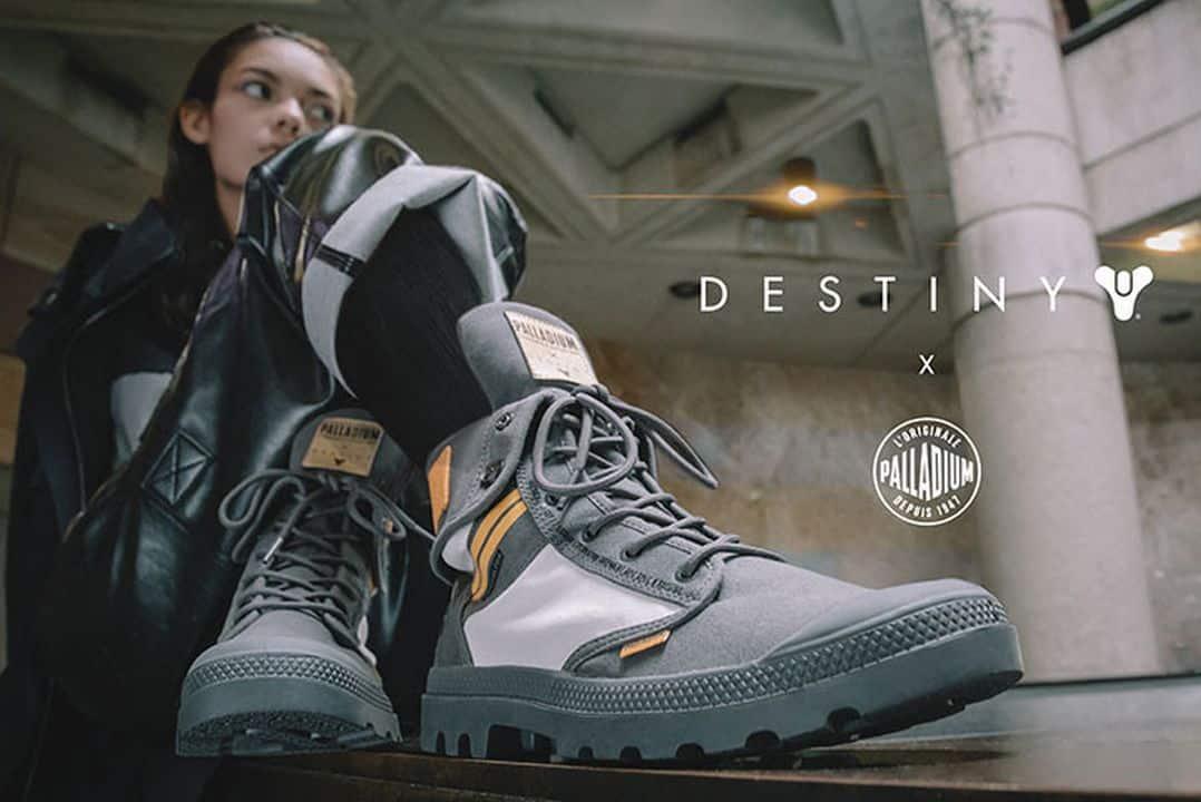 Chaussures Destiny 2 Palladium