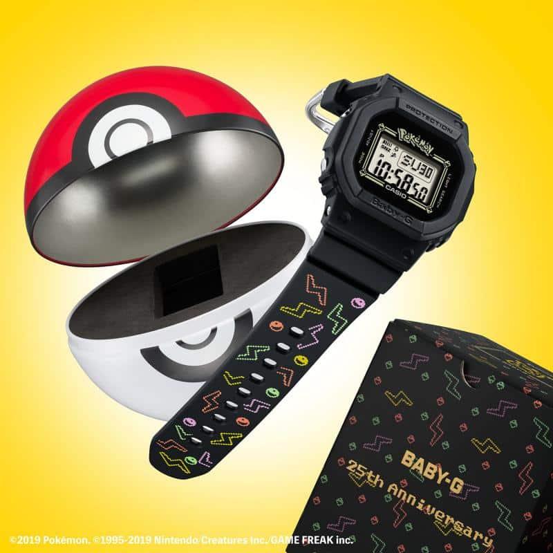La monter Casio Baby-G en édition Pokémon