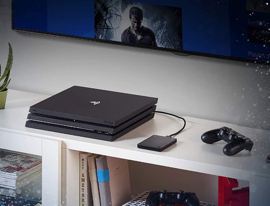 Le disque dur officiel Seagate et la PS4 Pro