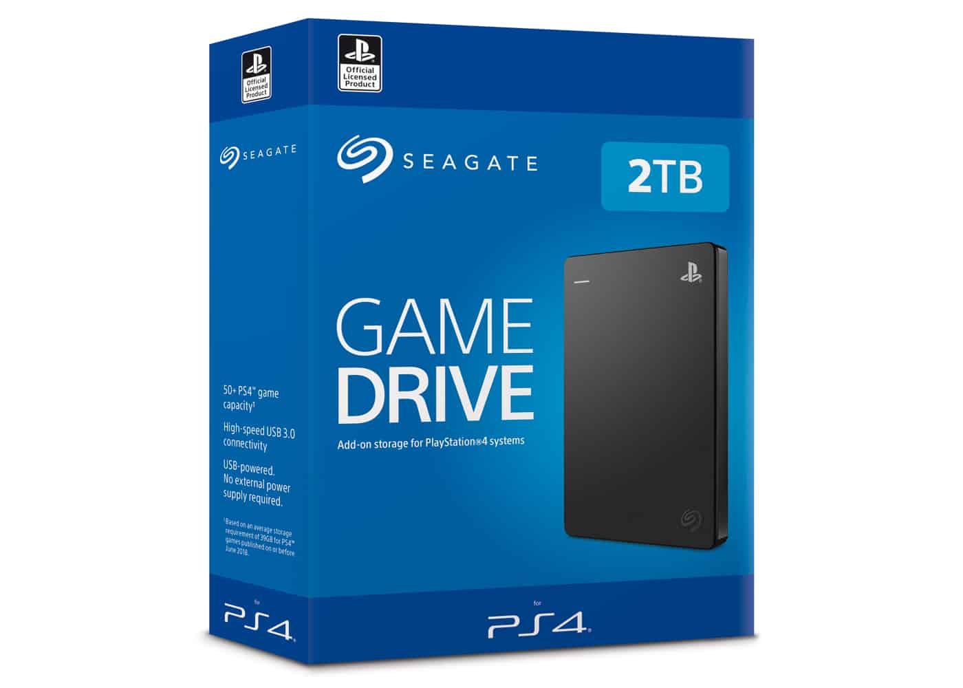 Disque Dur officiel PS4 Seagate