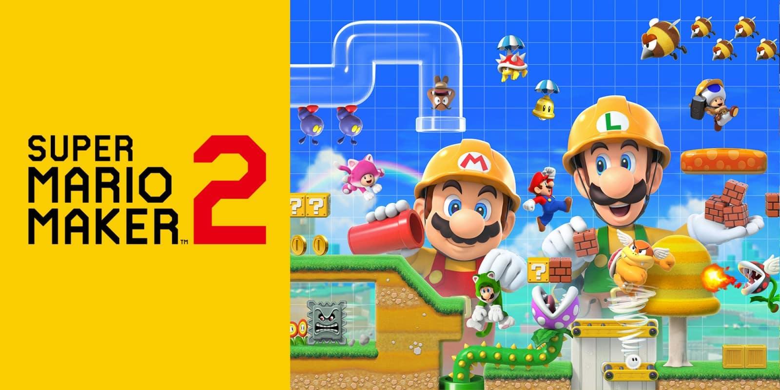 Online Super Mario Maker 2 Mise à Jour