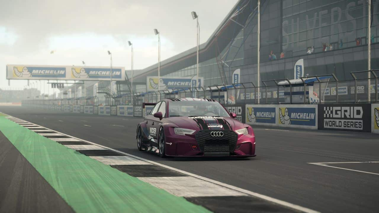 Test GRID PS4 Pro Audi