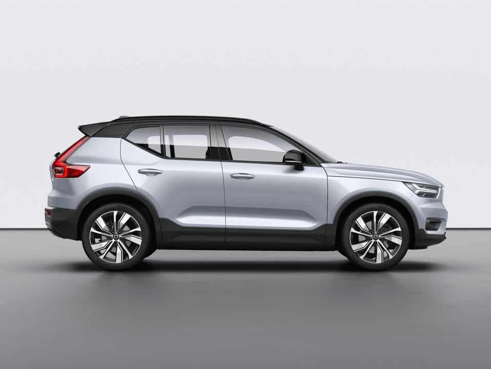 Le nouveau SUV Volvo XC40 100% électrique