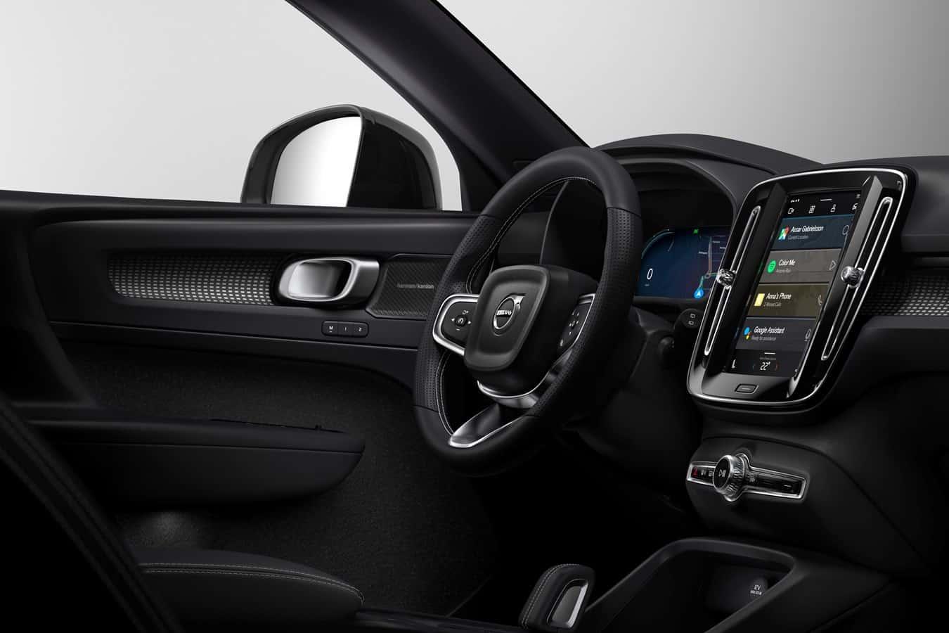 Le Volvo XC40, avec Android Auto