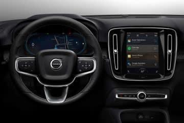 Android Auto à bord du Volvo XC40 électrique