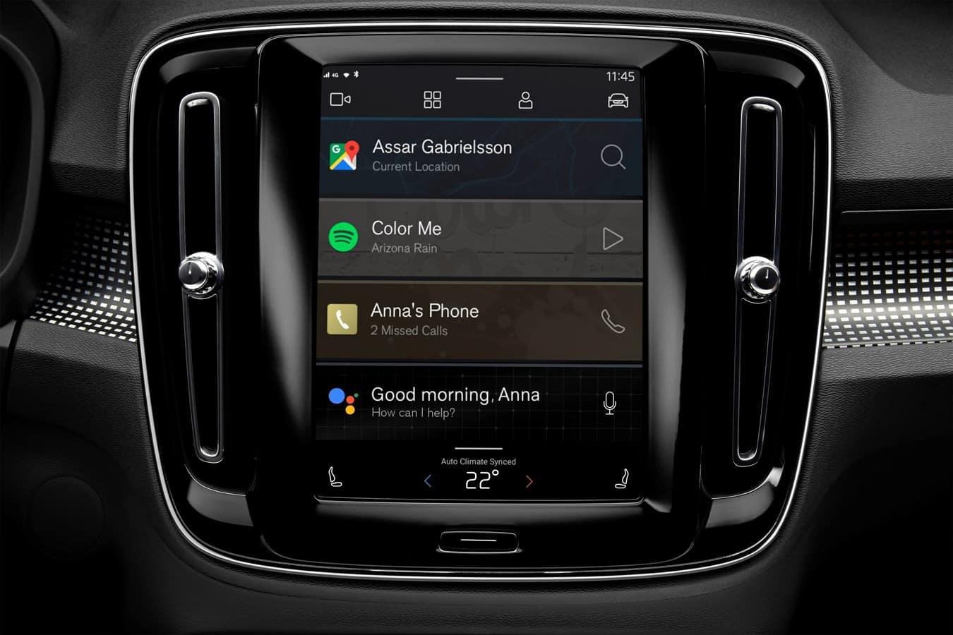 Android Auto Volvo