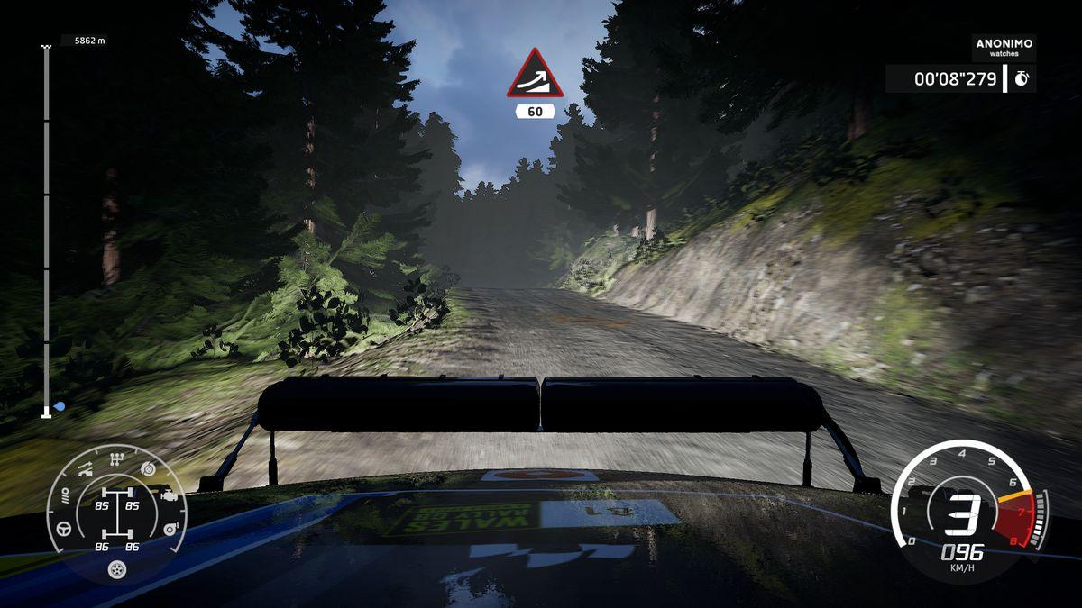 Test nouveau WRC 8