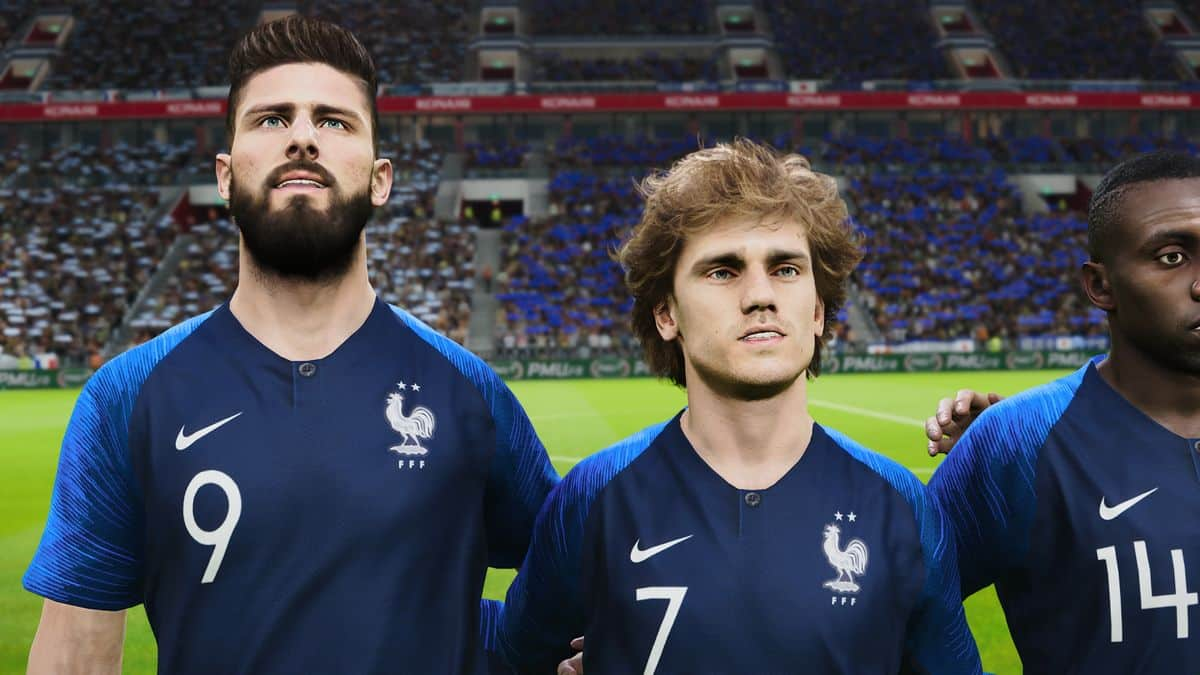 Giroud Griezmann PES 2020 PS4
