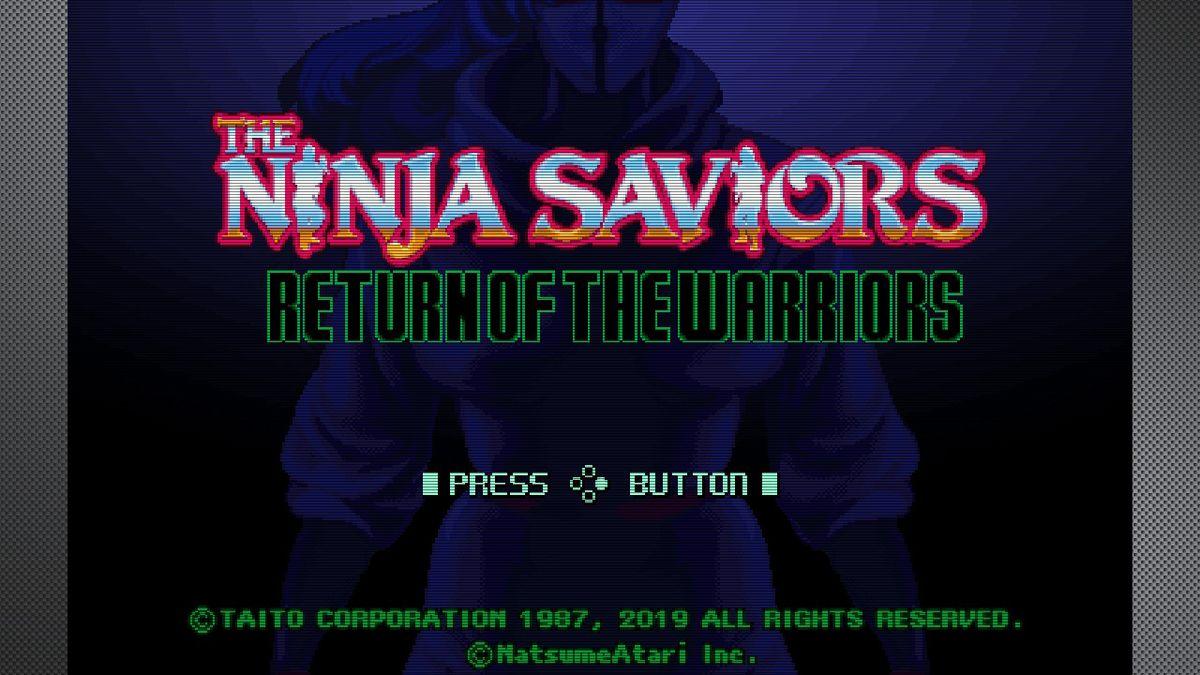 Test The Ninja Saviors: Return of the Warriors Nintendo Switch PS4