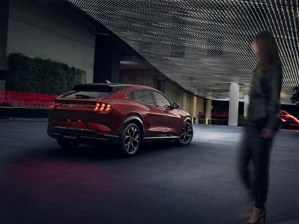 Nouvelle Ford Mustang Mach-E électrique