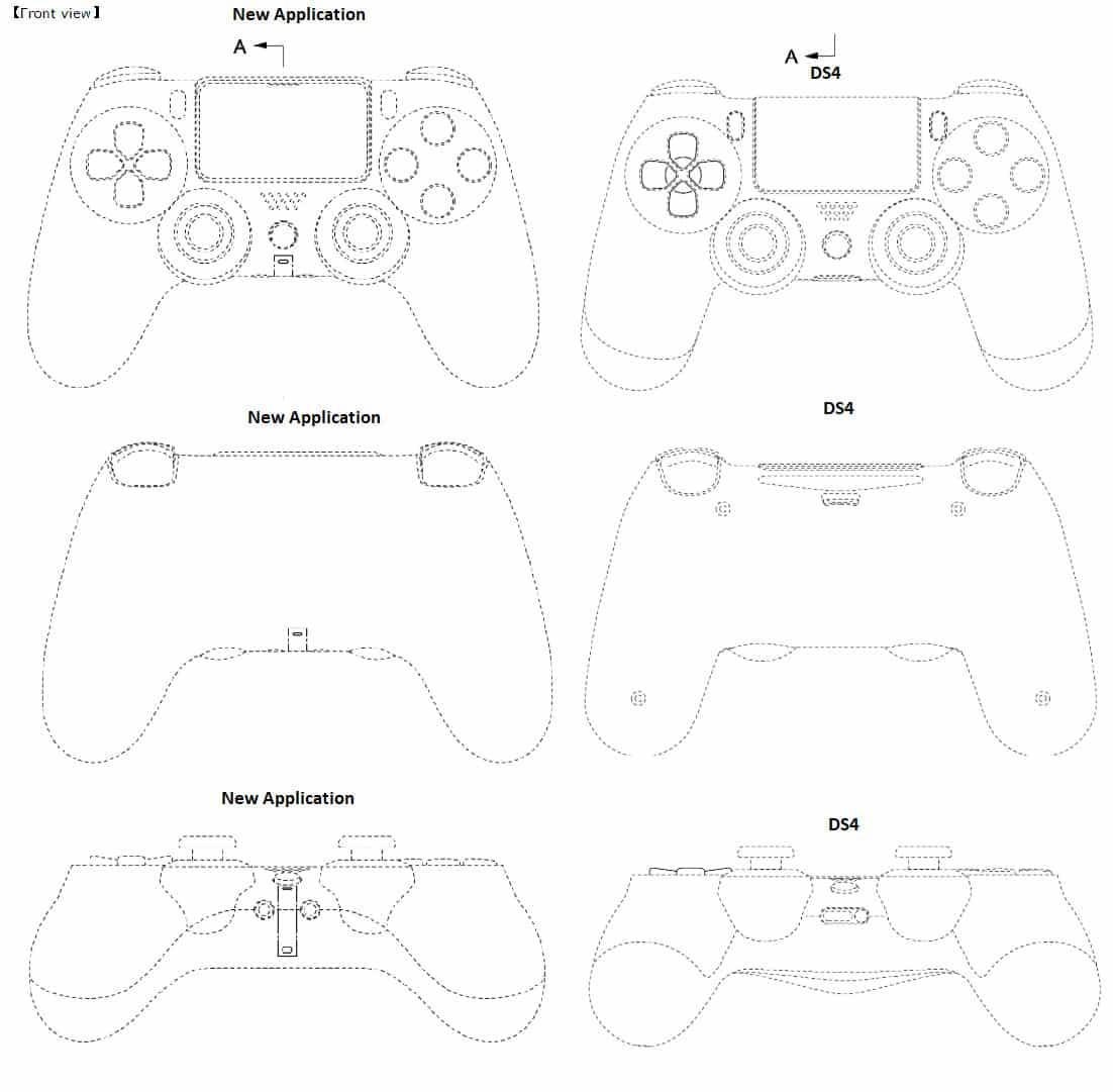 Comparatif DualShock 5 et DualShock 4