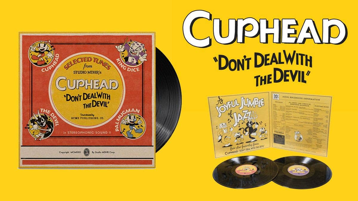 La BO de Cuphead au format vinyle chez Just for Games
