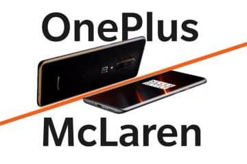 Test nouveau OnePlus 7T McLaren Edition