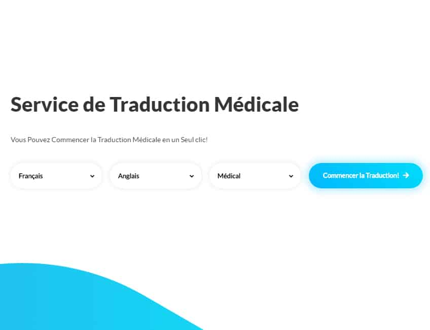 Service Traduction Medicale