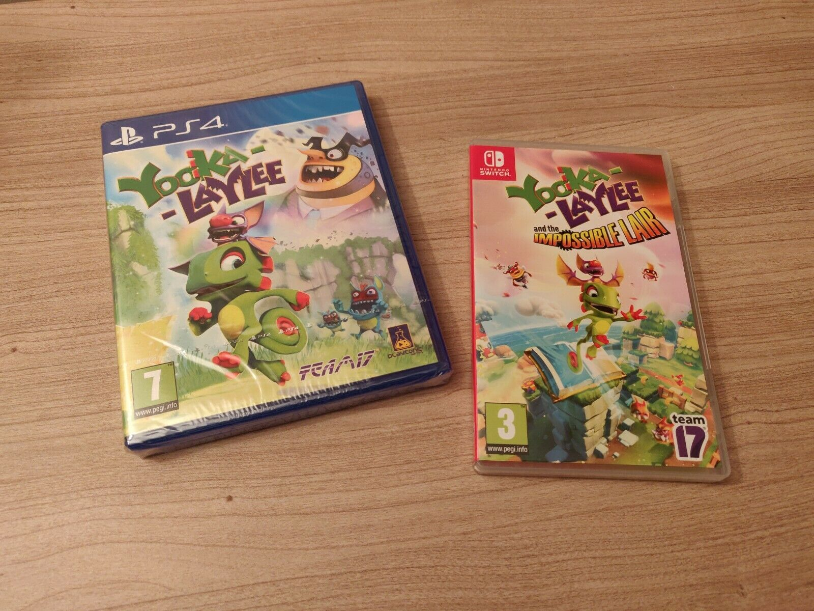 Yooka Laylee PS4 Switch