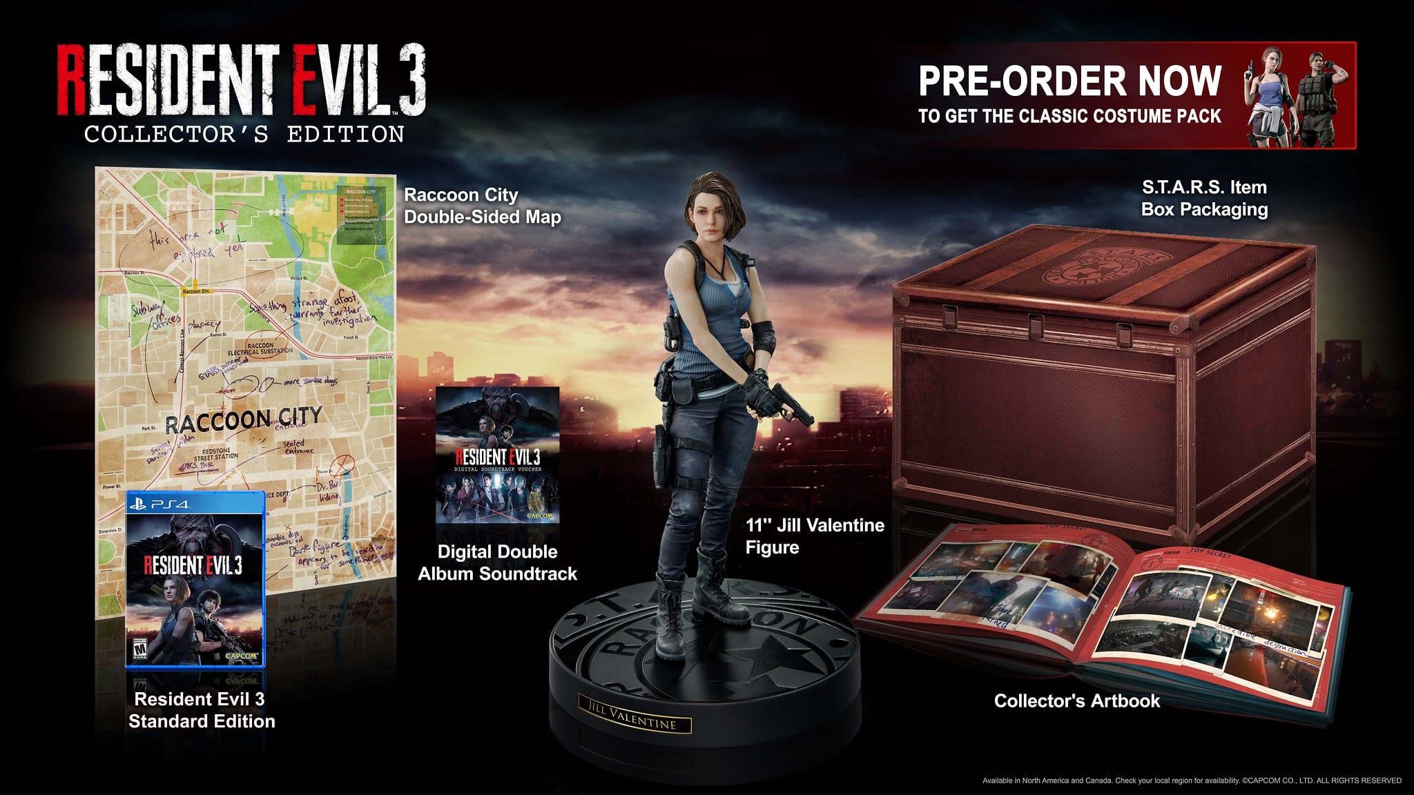 Acheter Resident Evil 3 Collector