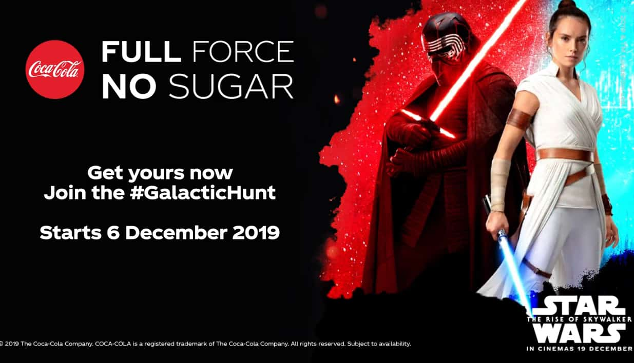 Bouteilles Coca-Cola Star Wars OLED