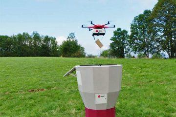 La Poste DPD Livraison Drone