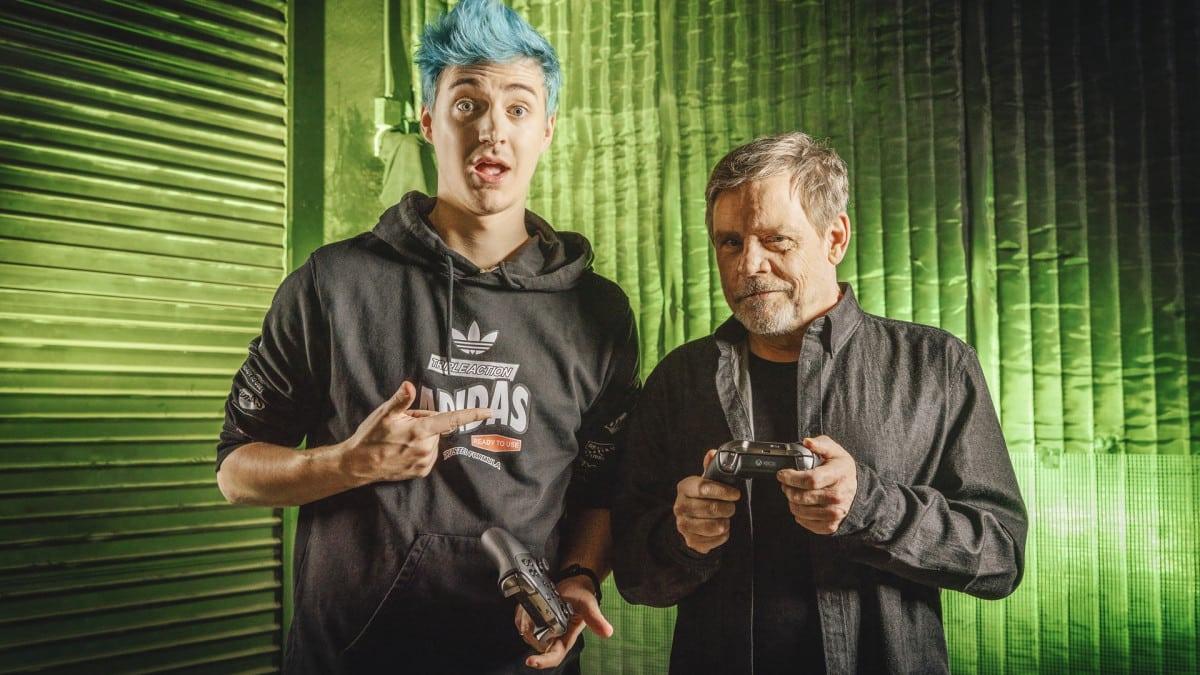 Ninja Mark Hamill Fortnite