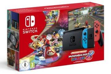Acheter le bundle Nintendo Switch + Mario Kart 8 gratuit