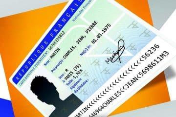 La nouvelle carte d'identité en 2021