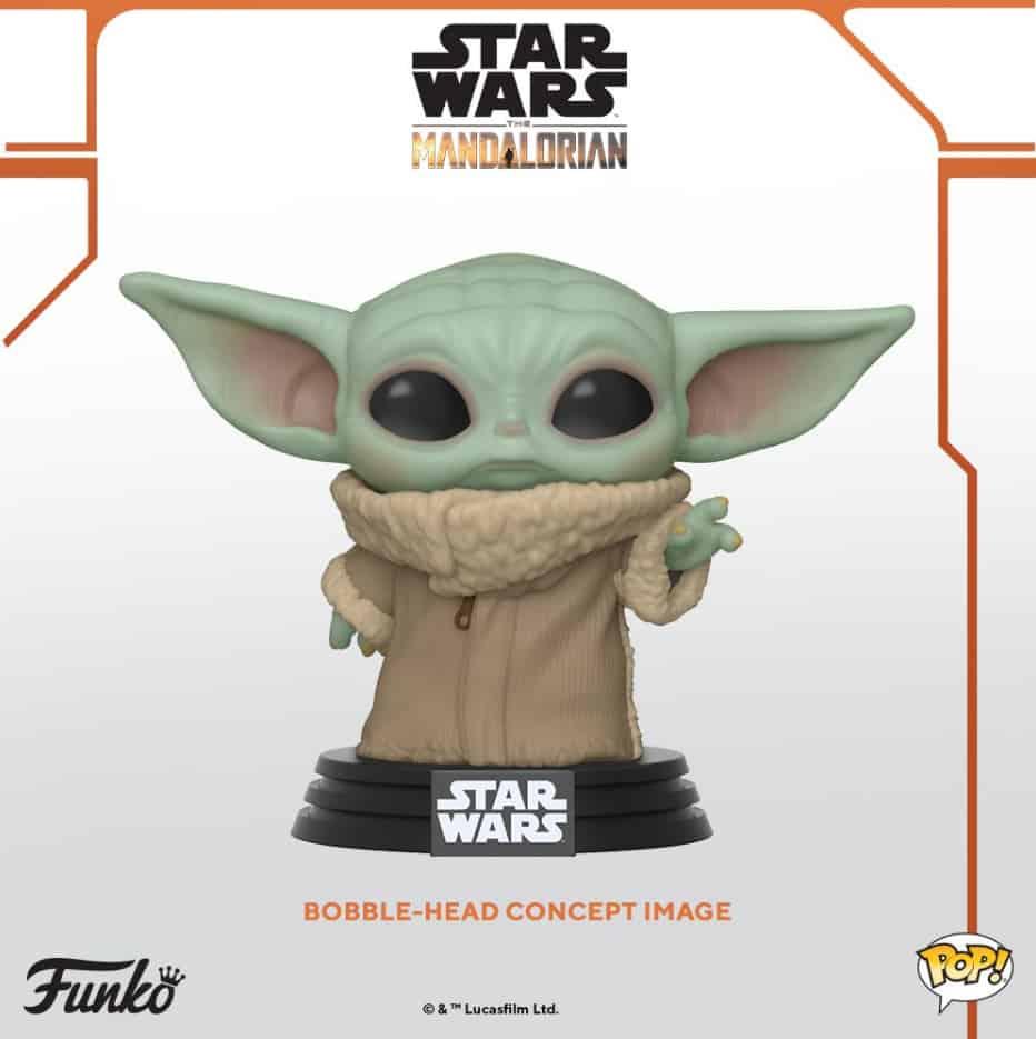 Figurine Funko Pop Baby Yoda Star Wars