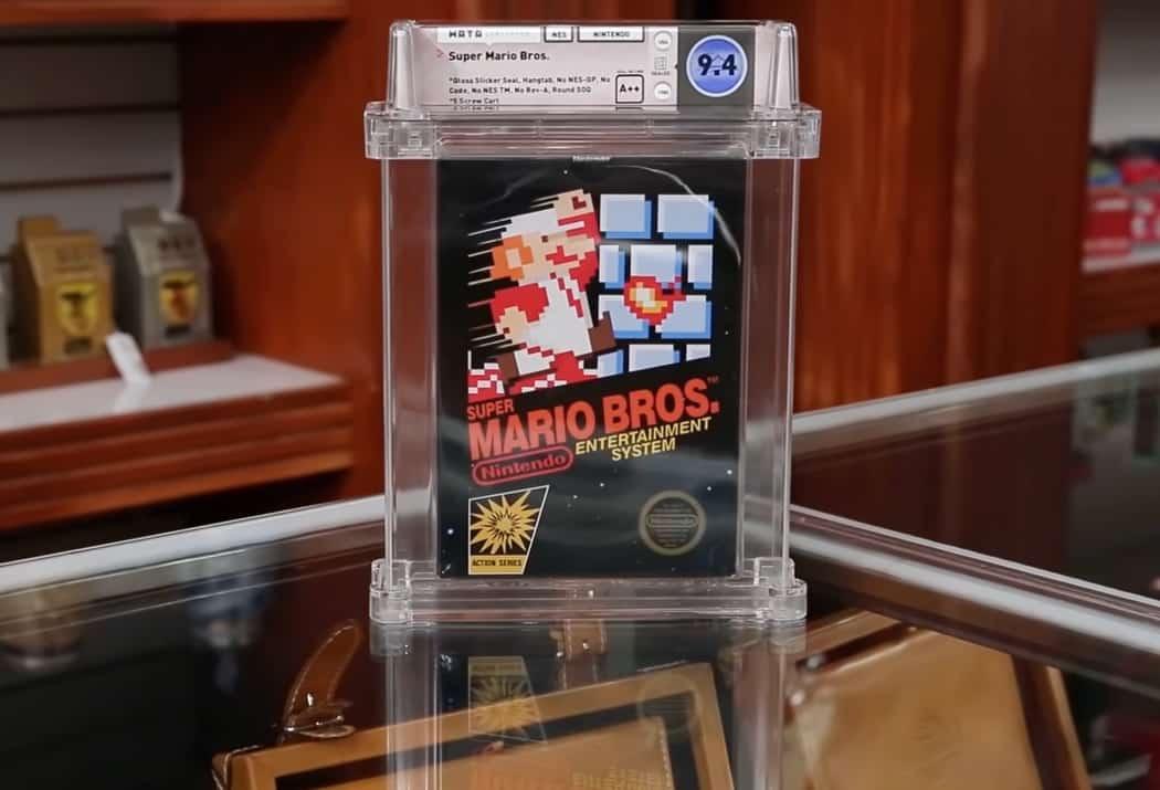 Pawn Stars Super Mario Bros 1 million de dollars
