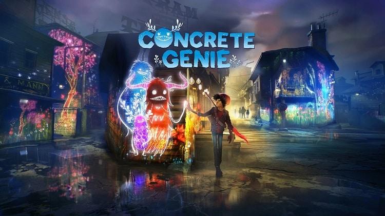 Test Concrete Genie