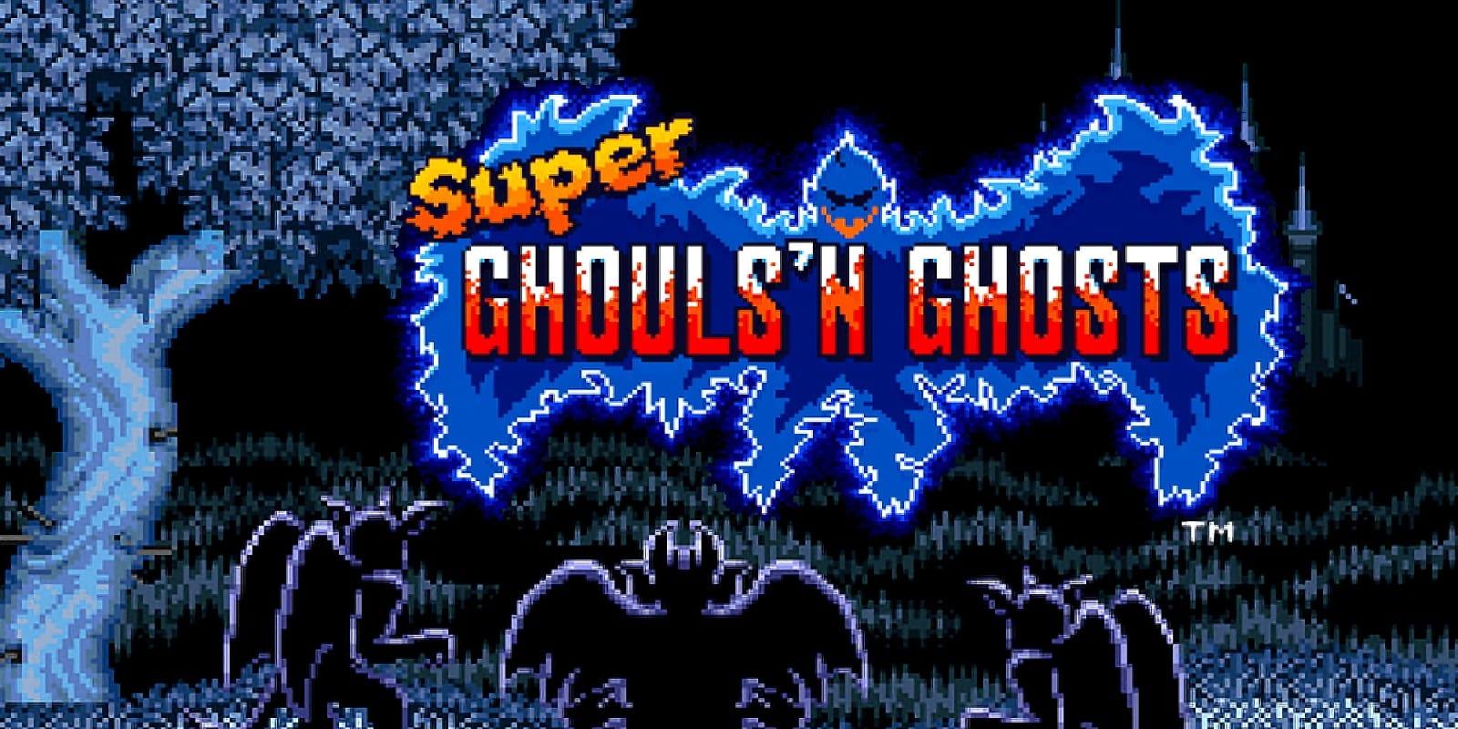 Test Super Ghouls Ghosts Super Nintendo