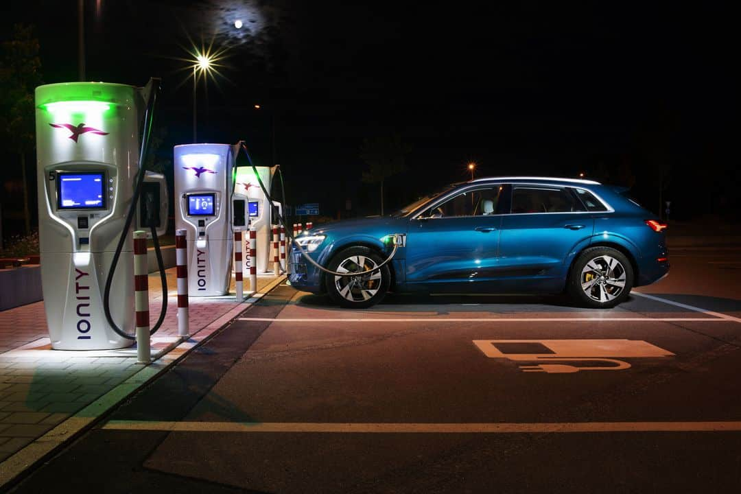 Prix recharge IONITY Audi 2020