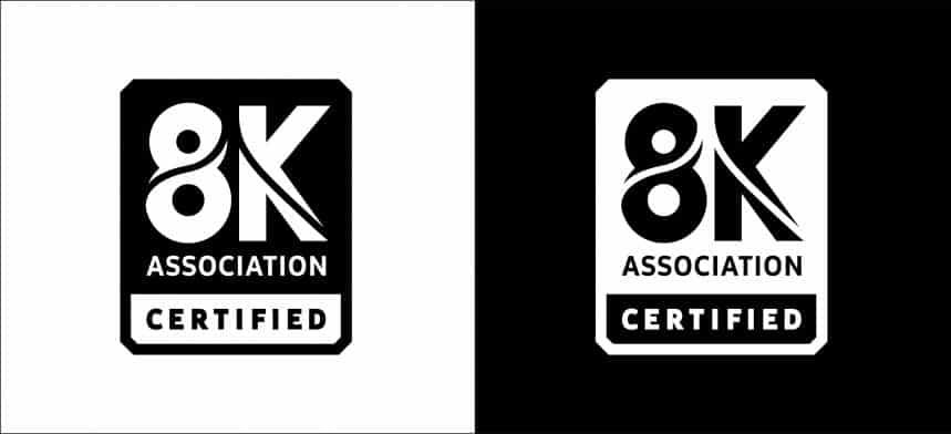 Le nouveau logo de certification 8K