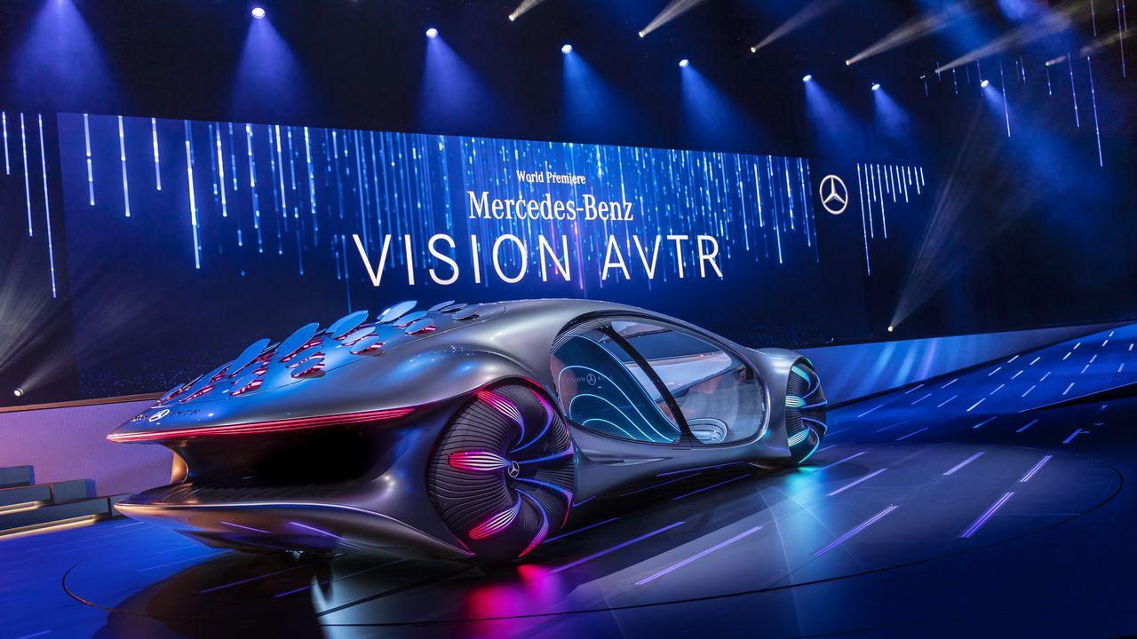 Mercedes Benz Concept Car Avatar