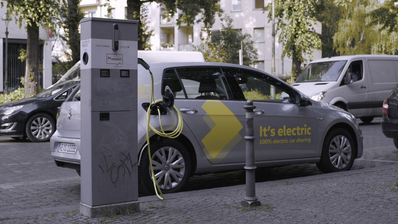 Volkswagen WeShare à Paris en 2020