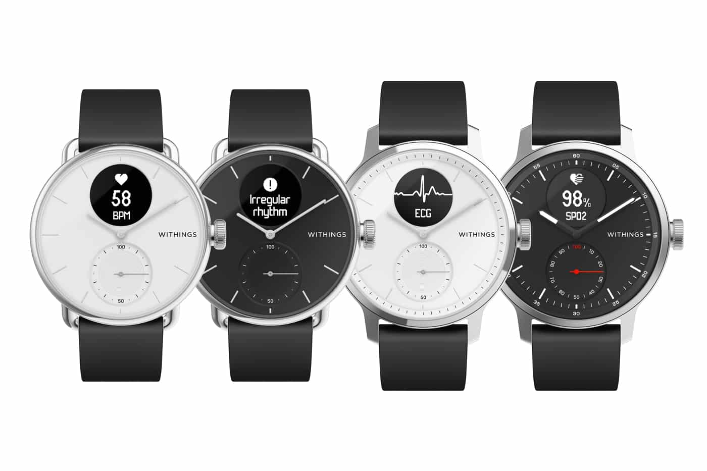 Nouvelle montre ScanWatch Withings