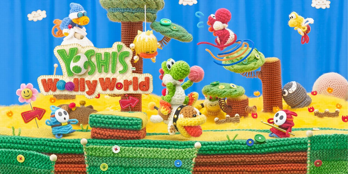 Yoshi Wooly World Nintendo Switch