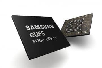Mémoire Samsung eUFS 3.1