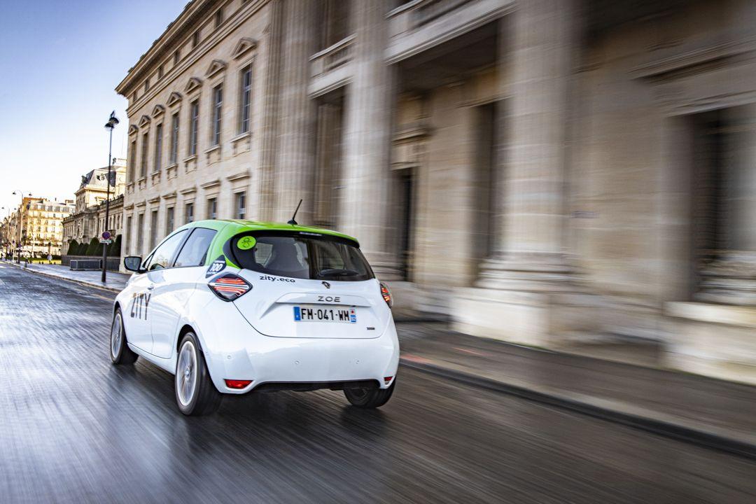 Renault ZOE ZITY Paris