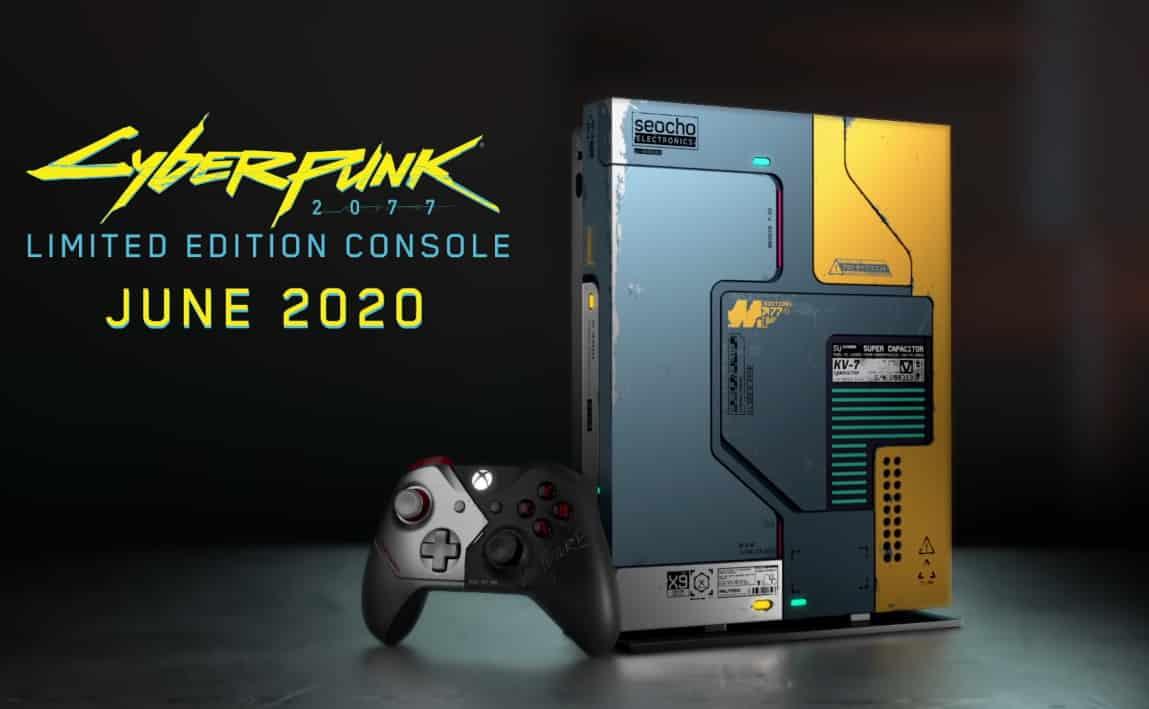 Acheter Xbox One Cyberpunk 2077 collector édition