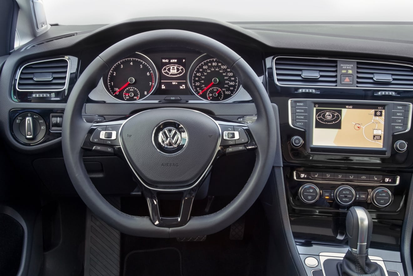 Ancien Logo VW Golf