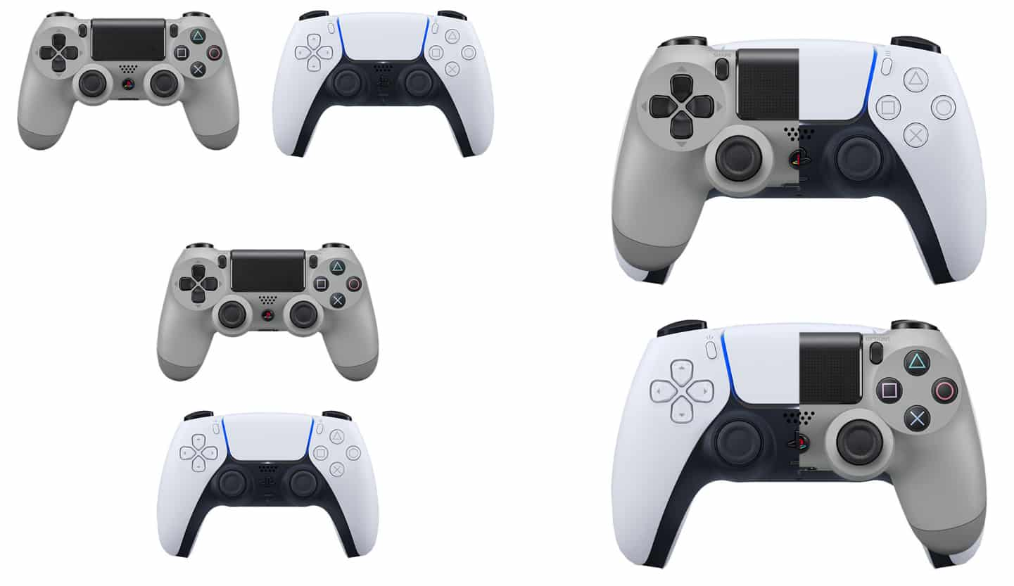 Comparatif DualShock 4 et DualSense PS5