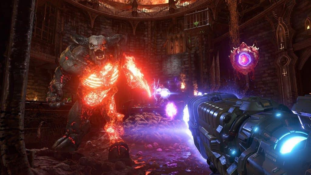 Test DOOM Eternal Xbox One X