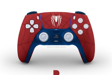 Manette DualSense Spiderman