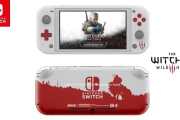 Nintendo Switch Lite The Witcher