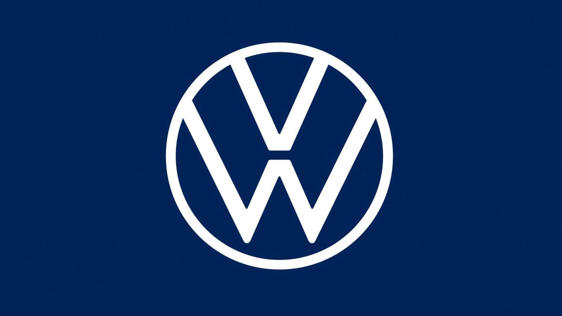 Le nouveau logo Volkswagen en 2020