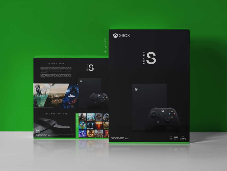 Packaging Xbox Series S