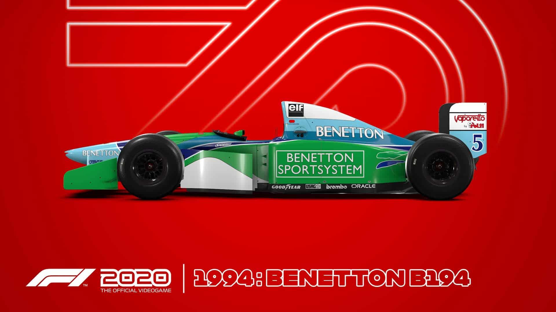 Schumacher Benetton F1 2020