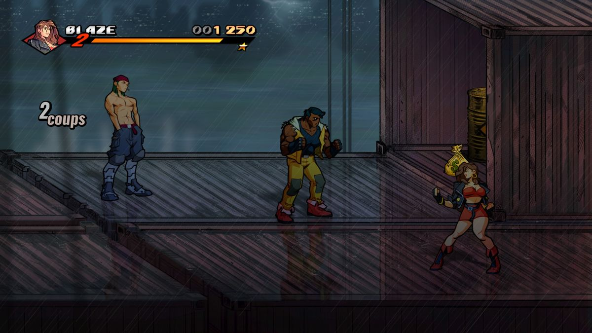 Test Streets of Rage PS4 Pro