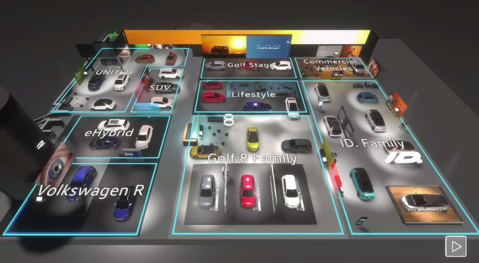 VW Virtual Auto Show 2020