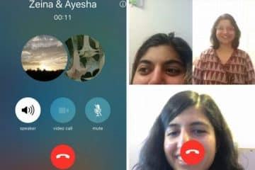 Appel Video Groupe WhatsApp